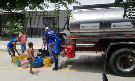 Denuncian fallas del servicio de agua en dos municipios