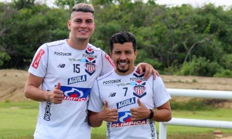 Michael Rangel y Sherman Cárdenas salen de Junior con rumbo al Independiente Santa Fe.