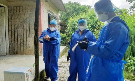Los casos de coronavirus siguen aumentando diariamente en Sucre