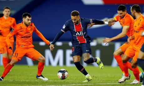 El París Saint-Germain hace valer la pegada de su tripleta mágica
