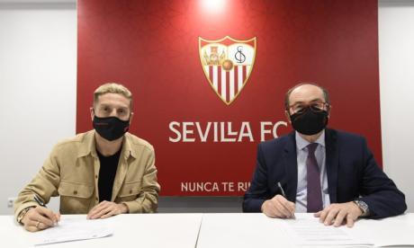 'Papu' Gómez, nuevo jugador del Sevilla hasta junio de 2024