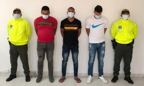 Capturan a tres de la banda delincuencial 'los Manolisas'