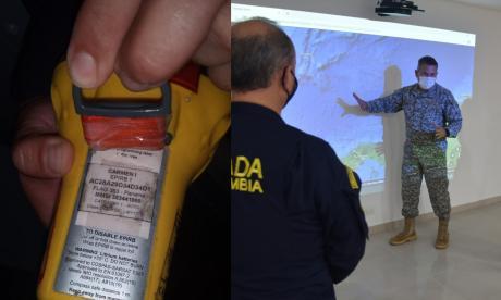 Hallan transmisor de radio del buque desaparecido en aguas del Caribe
