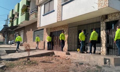 Allanan casa donde estuvo secuestrado 'Fito' Acosta