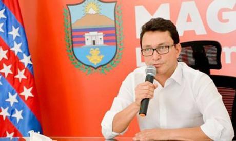 Gobernador del Magdalena dio positivo para covid-19