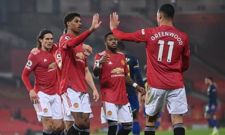 El Manchester United venció por 9-0 al Southampton.