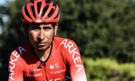 Nairo Quintana piensa reaparecer en los Alpes Marítimos y estará en la Volta