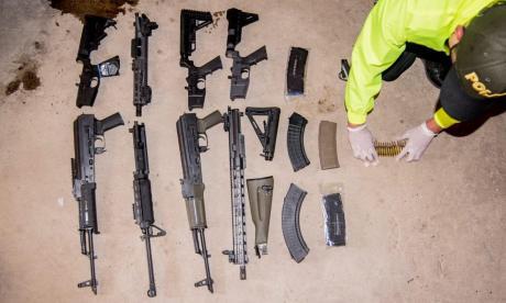 Red transnacional, detrás de tráfico de armas en la Costa