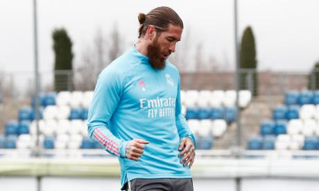 Sergio Ramos fue operado con éxito del menisco izquierdo