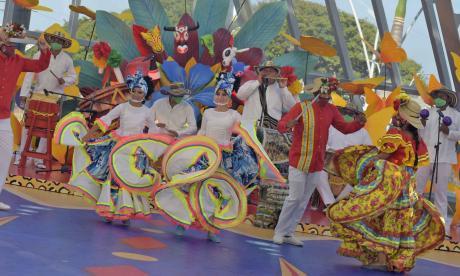 En video | Baranoa cantó y bailó su Carnaval del Recuerdo