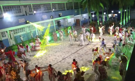 Tributo a la cumbia en Carnaval de la 84