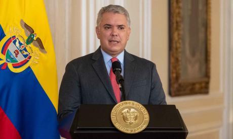 """""""Esperamos que la CPI investigue y sancione a Maduro"""": Duque"""