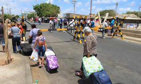 Venezolanos en La Guajira agradecieron la medida anunciada por el presidente