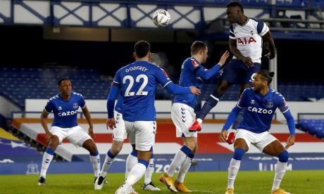 En video   Dávinson Sánchez marca doblete en el partidazo Everton-Tottenham