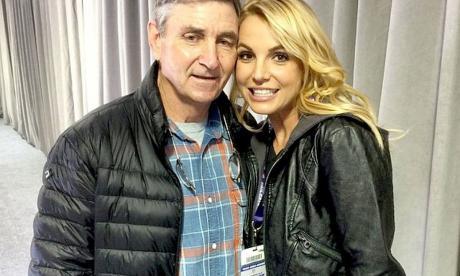 El padre de Britney Spears deberá compartir la tutela legal de la cantante