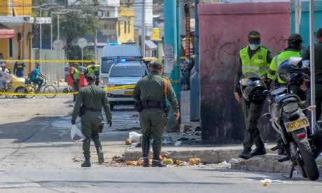 ¿De dónde salen las granadas que se trafican en Barranquilla?