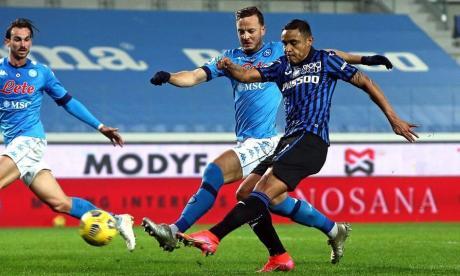 En video   Zapata y Muriel anotan en goleada 4-2 del Atalanta sobre Nápoles