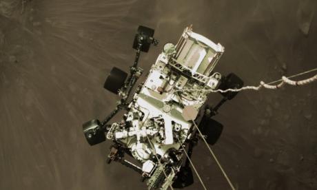 Así se ve la superficie de Marte