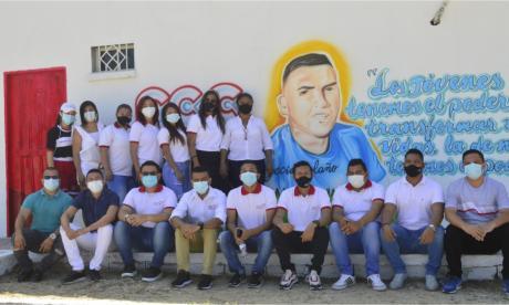 El homenaje a Yecid Bolaño, el líder asesinado en medio de un atraco