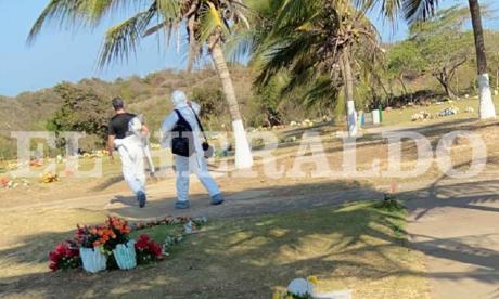 Exhuman uno de los cuerpos extraviados en la Clínica El Prado