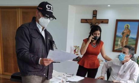 Fiscalía captura a Aníbal Gaviria y lo envía a casa por cárcel