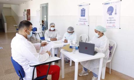 13 municipios de Bolívar terminaron primera fase de vacunación