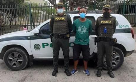 Cae señalado de causar muerte a mujer que salió a ver riña en Cartagena