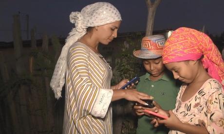 En la Alta Guajira se conectan por primera vez a Internet Móvil 4G