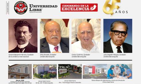 Universidad Libre Seccional Barranquilla, 65 años al servicio de la formación profesional