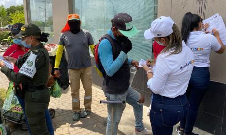 En Montería identifican a menores en riesgo de trabajo infantil