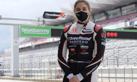 Tatiana Calderón termina pretemporada de Súper Fórmula Japonesa
