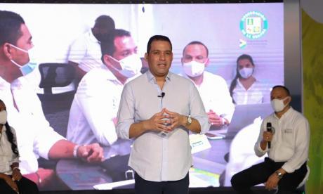 Gobernador guajiro presentó informe de su gestión en el 2020