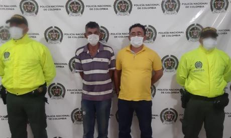 Capturan a dos presuntos miembros del 'Clan del Golfo'