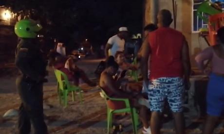 Policía desactivó 2.241 covid-fiestas durante Semana Santa en Colombia