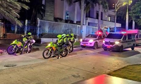 Policía hará controles en toque de queda en Barranquilla