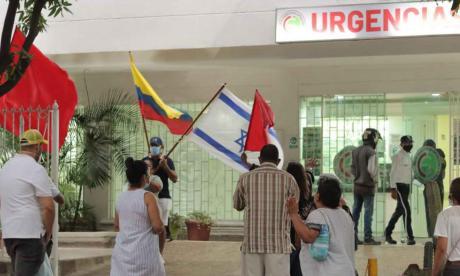 Realizan oración por enfermos de covid en Riohacha