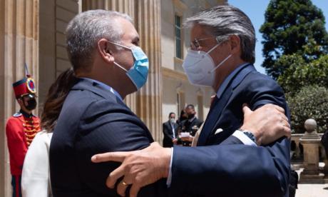 Duque se reúne con el presidente electo de Ecuador