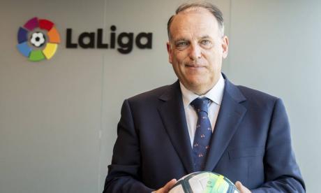 Javier Tebas dice que la Superliga ha hecho el ridículo