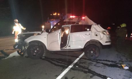 Hermano de Teófilo Gutiérrez resulta herido en accidente de tránsito