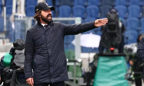 Pirlo sobre la posible exclusión de Juventus en la Champions