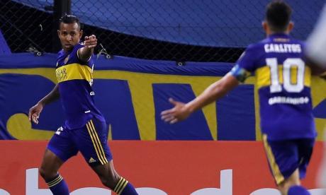 Gol de Sebastián Villa en victoria de Boca ante Santos
