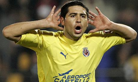 Riquelme aseguró que no volvió a ver su penal contra el Arsenal