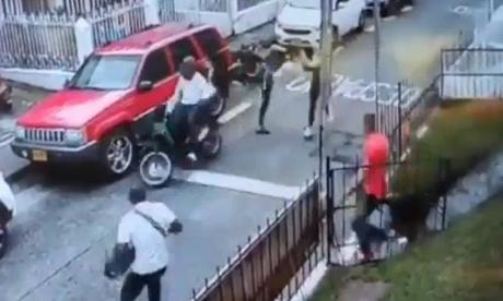 El 'Jackie Chan' que evitó un robo en Pereira