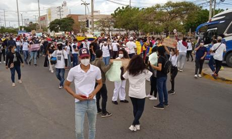 Paro Nacional: marchas pacíficas en la región Caribe este 3 de mayo