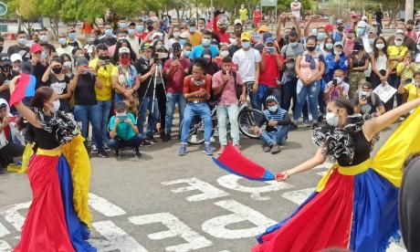 Riohacha, Montería y Sincelejo marcharon para pedir por la paz