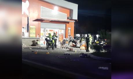 Saquean y vandalizan tienda Ara en Costa Hermosa, Soledad