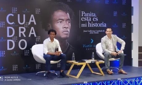 Juan Guillermo Cuadrado lanzó su libro autobiográfico