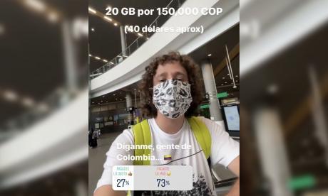 150 mil pesos le cobraron a Luisito Comunica por una sim card en el Dorado