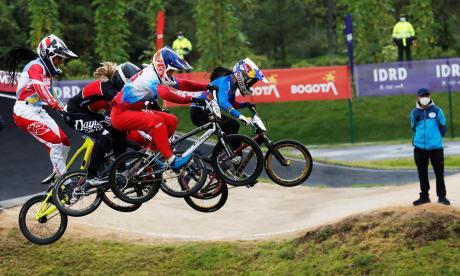 Mariana Pajón y Gabriela Bolle hacen el 1-2 en válida de Copa Mundo de BMX