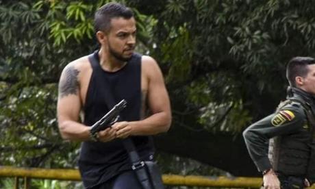 Andrés Escobar, el civil armado en Cali, dijo que arma era traumática
